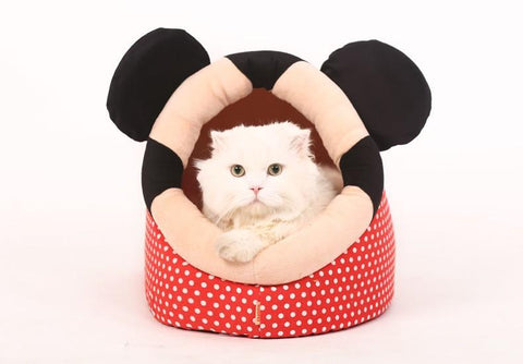 Cuddly Cave Removable Cover Cushion with Zipper Cat Bed