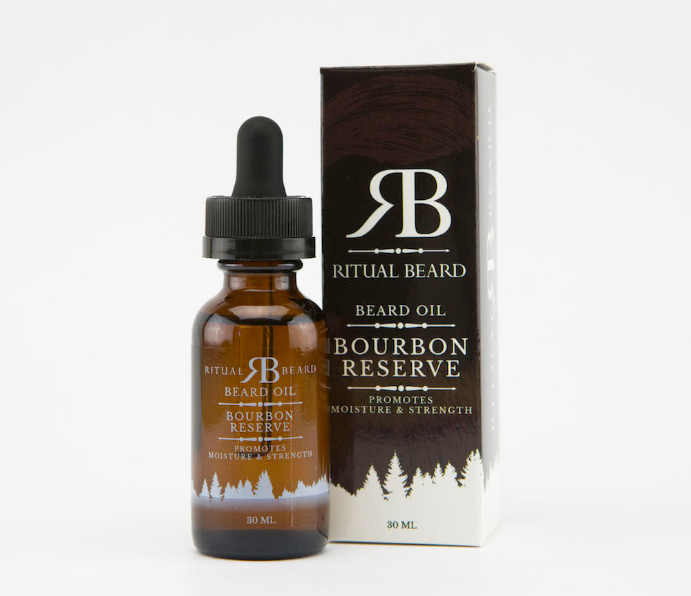 Ritual Beard Bourbon Reserve Beard Oil - 30ml