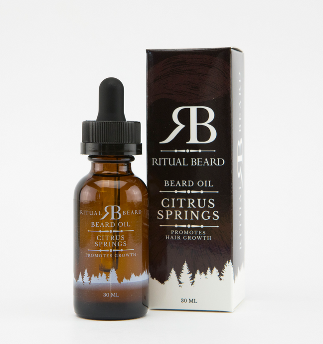 Ritual Beard Citrus Springs Beard Oil - 30ml