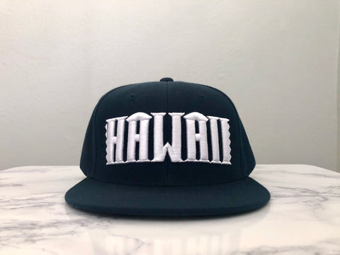Hawaii Navy Blue Snapback