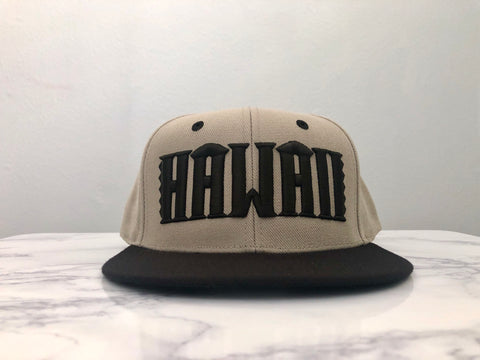Hawaii Grey/Black Snapback