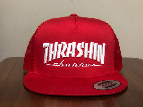Thrashin Churros Trucker (Red/Red)