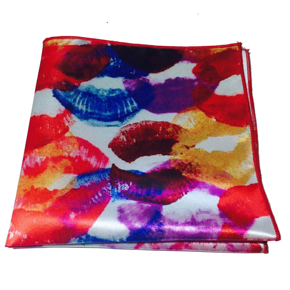Kisses By Alice - Pocket Square