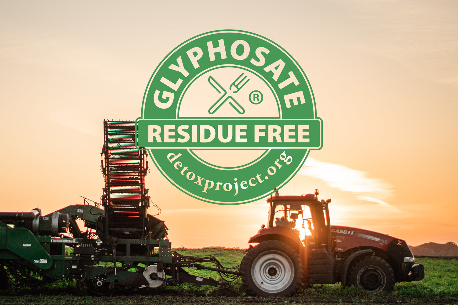MSPrebiotic Resistant Potato Starch is certified Glyphosate Residue Free by The Detox Project