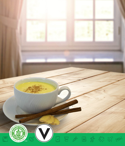 MSPrebiotic® Turmeric Ginger Milk Tea
