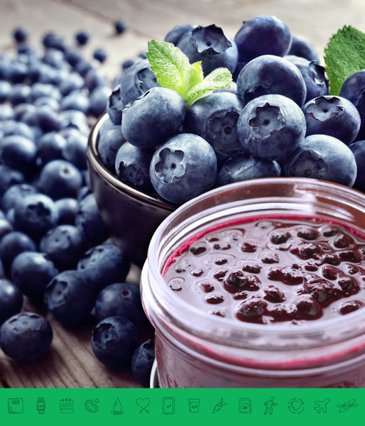 MSPrebiotic® Blueberry Compote