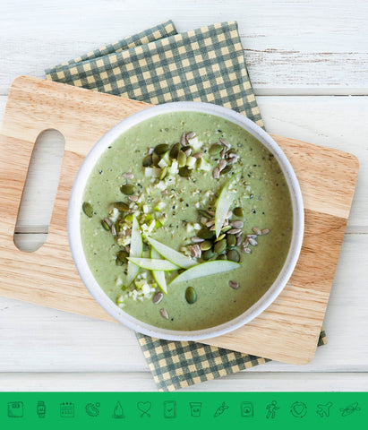 MSPrebiotic® Green Apple Pie Smoothie Bowl