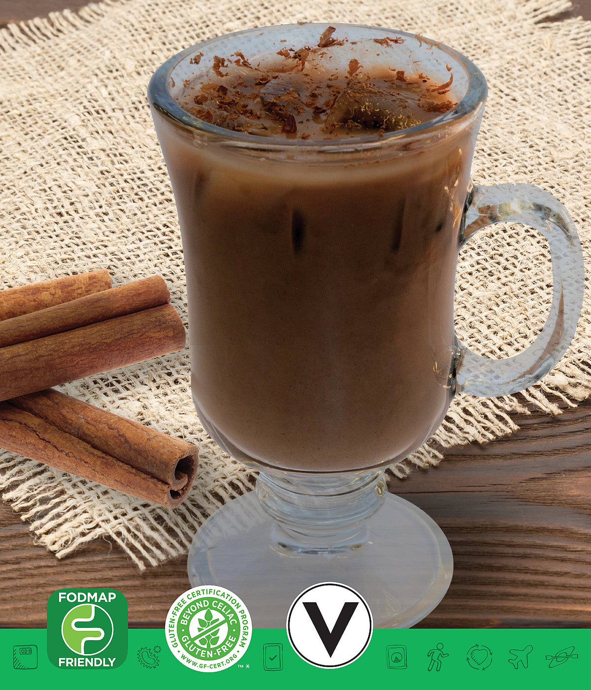 MSPrebiotic® (FODMAP Friendly) Chocolate Horchata