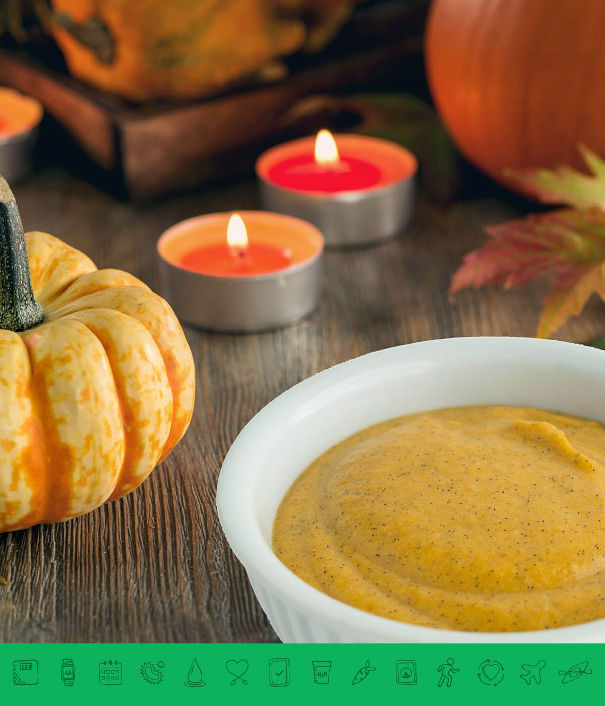 MSPrebiotic® Pumpkin Pie Spiced Custard