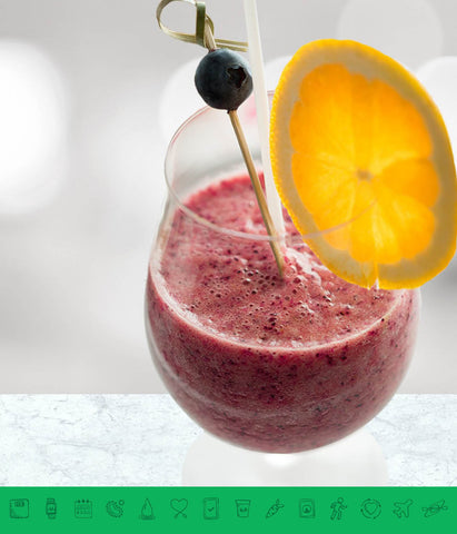 MSPrebiotic® Tropical Blueberry Smoothie