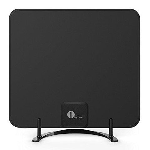 1Byone Freeview Tv Aerial With Stand - Hdtv Antenna With Excellent Performance For Digital Freeview And Analog Tv Signals Indoor Digital Tv