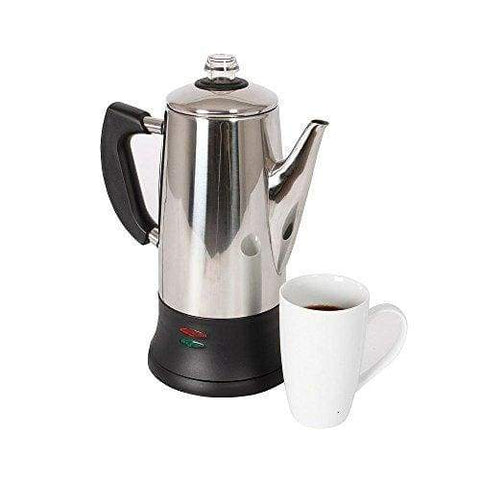 3 Pint Electric Cordless Coffee Percolator