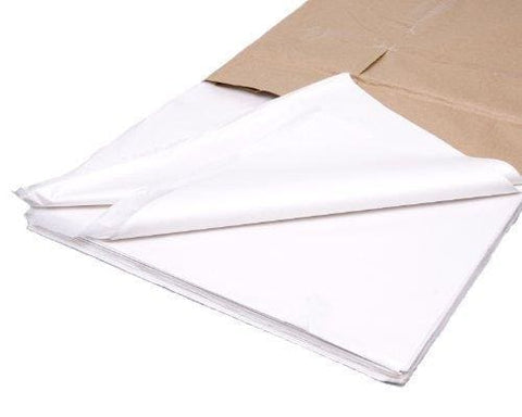 50 Sheets Of Acid Free White Tissue Paper 18 X 28