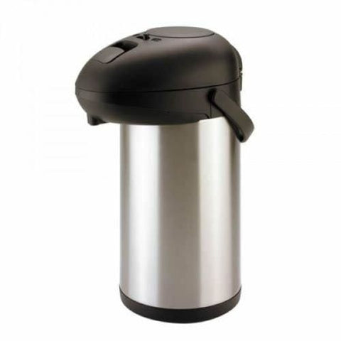 5L Airpot / Flask Drinks Dispenser Pump Action Catering Tea/ Coffee Urn