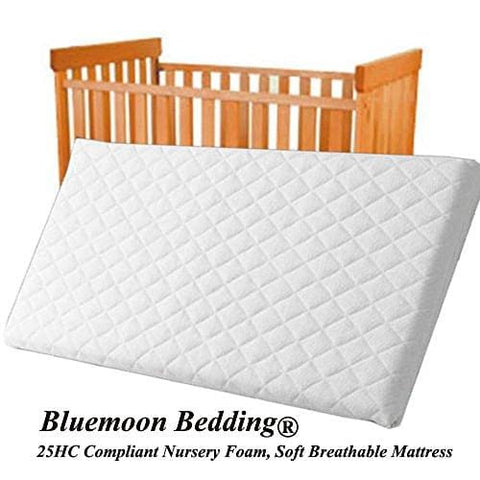 84X43X4 Cm Quilted And Breathable Cradle /pram /swing /cot /crib Mattress Square Corners (84X43X4 Cm)