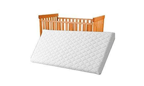 89X38X4 Cm Quilted And Breathable Cradle /pram /swing /cot /crib Mattress Square Corners (89X38X4 Cm)