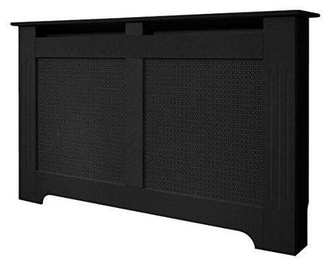 Adam Large Radiator Cover In Black Wood
