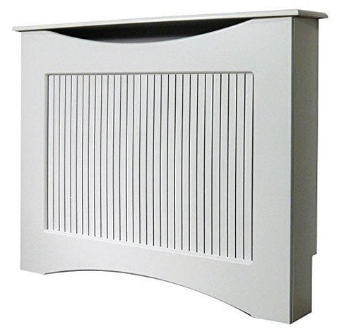 Adam The Fairlight Radiator Cover In White 1200Mm