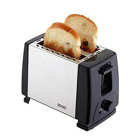 Advanced Compact Ultra-Efficient Stainless Steel 2-Piece Toaster Insulated Frame Wire-Drawing Breakfast Bread Quick 2-Minute Bake Toaster