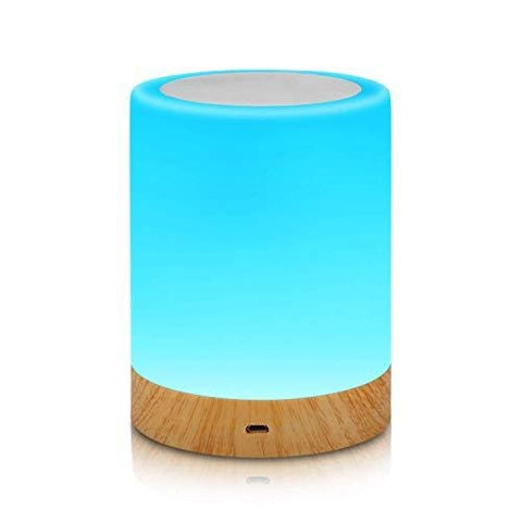 Aisuo Touch Control Bedside Lamp Night Dimmable Function Rechargeable Lithium Internal Battery 2800K-3100K Warm Light & Adjustable