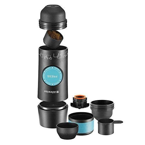 Alfawise Camping Espresso Coffee Makercoffee Machine Manual And