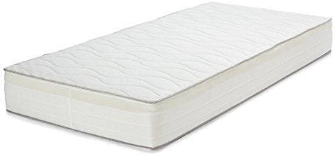 Amazonbasics Extra Comfort Pocket-Spring Mattress With Highly Elastic Foam Layer 7-Zone Support Single