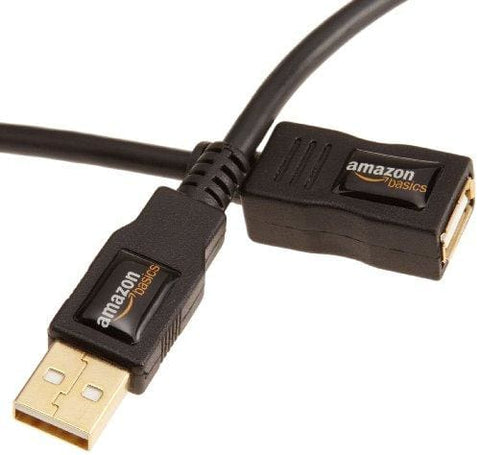 Amazonbasics Usb 2.0 A-Male To A-Female Extension Cable 1 M/3.3 Feet