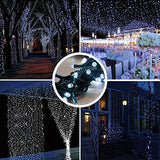 Amir Solar Powered String Lights (200 Led 8 Modes) Solar String Lights 72Ft/ 22M Solar Fairy String Lights Outdoor/indoor Ambiance Lighting