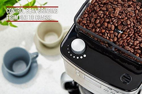 Andrew James Bean To Cup Coffee Machine Filter Coffee Maker