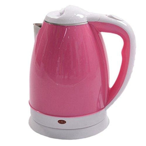 Anti-Hot Electric Kettle 304 Food Grade Stainless Steel Electric Kettle 1500 Watt Cordless Electric Kettle 2L Pink