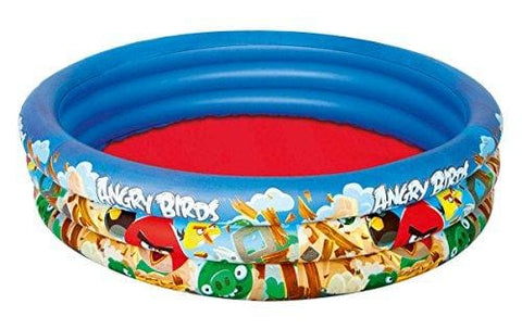 Bestway Angry Birds Three Ring Paddling Pool - Blue