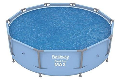 Bestway Bw58241 10 Feet Steel Pro Frame Solar Swimming Pool Cover