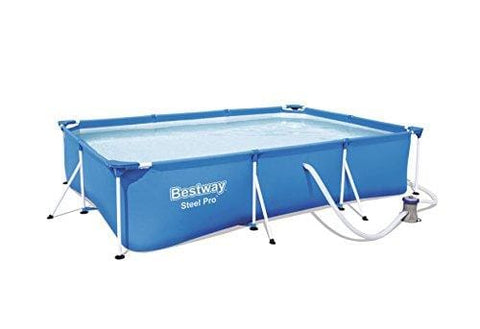 Bestway Steel Pro Pool Set Swimming Pool 3300 Liters Blue 300 X 201 X 66 Cm