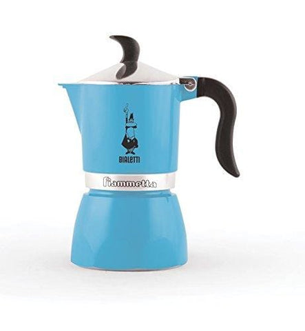 Bialetti Fiammetta Espresso Maker For 1 Cup Light Blue