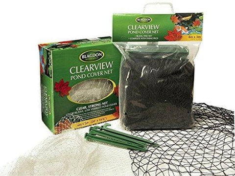 Blagdon Clearview Pond Cover Net - 6M X 5M