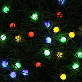 Bluefire 31Ft 50 Led Globe String Lights Plug In With Remote Control Timer 8 Lighting Modes Decorative Lighting For