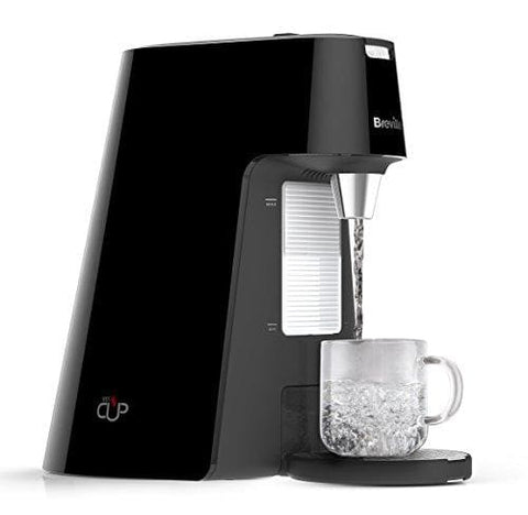 Breville Hotcup Hot Water Dispenser With Adjustable Cup Height 1.7 Litre Gloss Black
