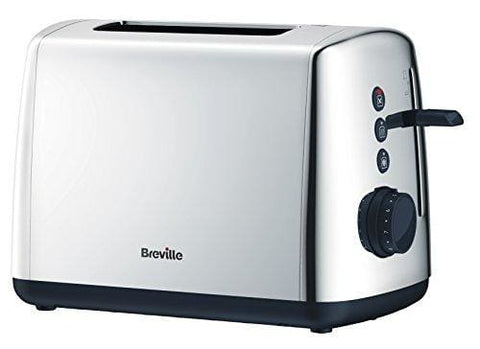 Breville Vtt548 Vista Polished Stainless Steel 2 Slice Toaster