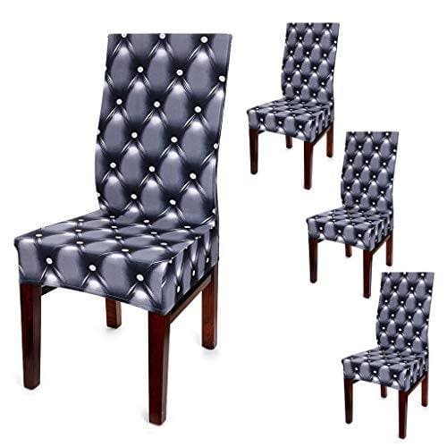 BTSKY 4 Pcs Dining Chair Covers
