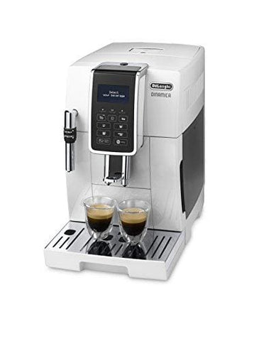 Delonghi Dinamica Ecam 350.35.w Bean To Cup White