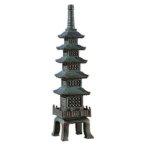 Design Toscano The Nara Temple Asian Garden Pagoda Sculpture