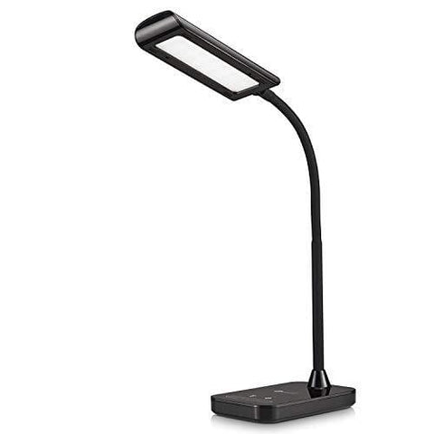 Desk Lamp Taotronics Flexible Gooseneck Led Table Lamp 5 Color Temperatures With 7 Brightness Levels Bedside Light With Touch Control Memory