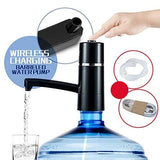 Drinking Water Pump Teckcool Wireless Automatic Electric Gallon Drinking Bottle Water Dispensing Pump Systemportable Switch 5W Usb Charging