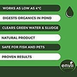 Envii Pond Klear Pond Algae Treatment Clears Green Water & Controls Algae Treats 20 000 Litres