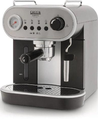 Gaggia Ri8525/08 Carezza Manual Coffee Machine - Grey