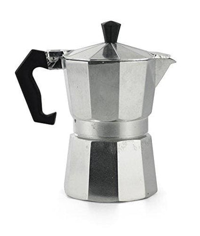 Galileo Casa 2175868 Coffee Maker 1 Cup Aluminium Grey