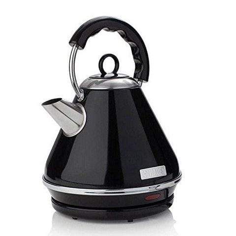 Haden 183507 Boston Pyramid Kettle 1.7 Litre 3000 W Black