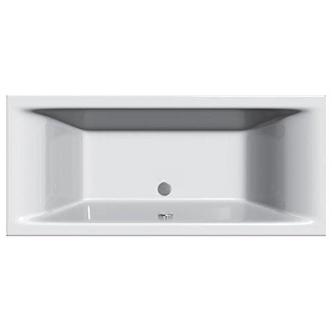 Home Standard Cube Square Bathroom Straight Double Ended Bath Tub Acrylic | 1800Mm X 800Mm | Lifetime Guarantee
