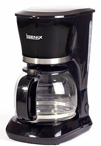 Igenix Ig8126 10-Cup Filter Coffee Maker 800 W - Black