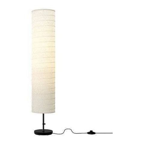 Ikea 301.841.73 Holmo Floor Lamp Metal 46-Inch